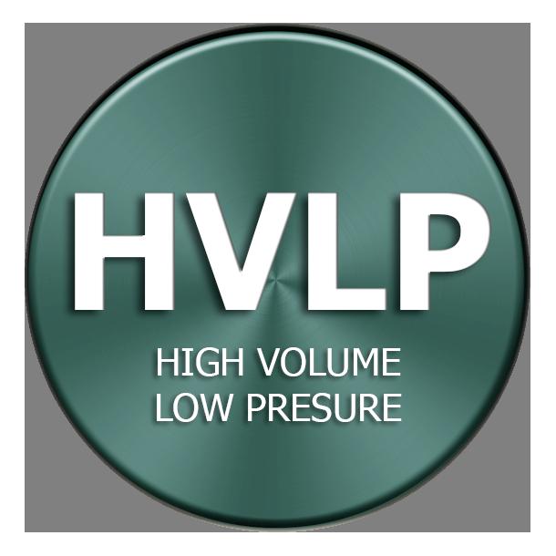 sistema HVLP High Volume Low Pressure